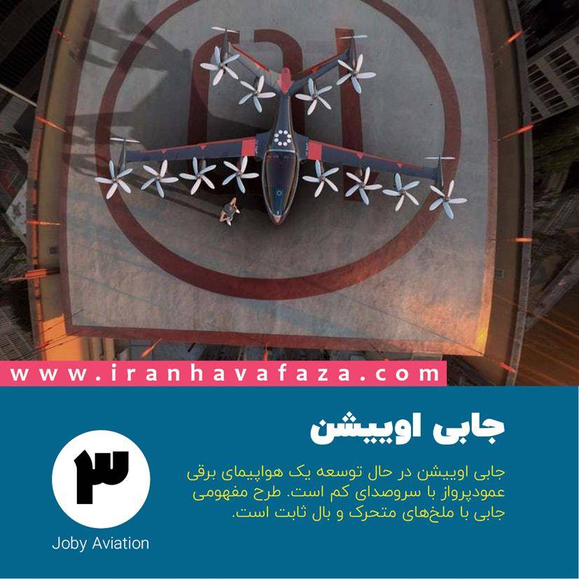 3. جابی اوییشن (Joby Aviation)