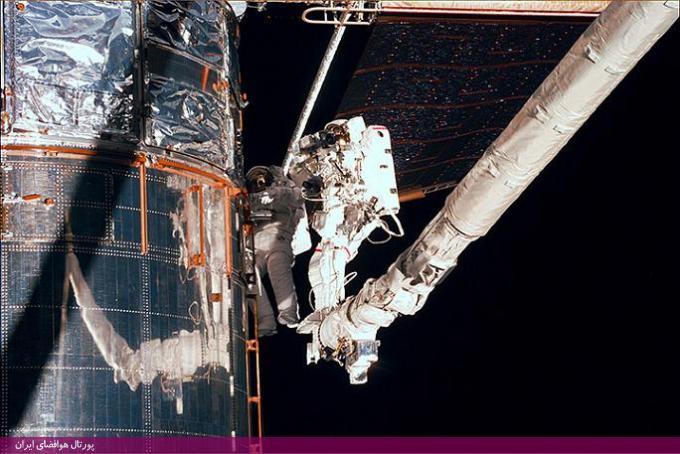 بازوی رباتی جایگذاری از راه دور شاتل فضایی