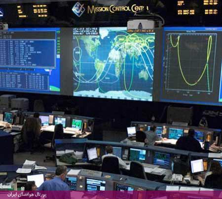ایستگاه كنترل زمینی شاتل فضایی واقع در مركز فضایی كندی