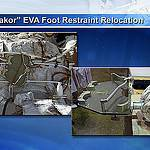 """Yakor"" EVA Foot Restraint Relocation"