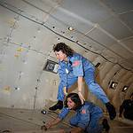 Teacher-in-Space Trainees on the KC-135