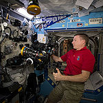 ISS043E276456 (05/31/2015) --- Expedition 43 Commander and NASA astronaut Terry Virts is seen here inside the station