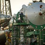 Expedition 38 Soyuz Rollout