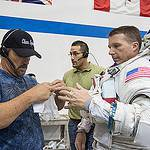 Astronaut Terry Virts Participates in EVA Training